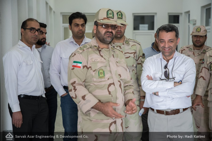 Pictorial Report: Temporary Handover of Border Checkpoint Building to Petroleum Engineering and Development Company and Border Regiment of Mehran