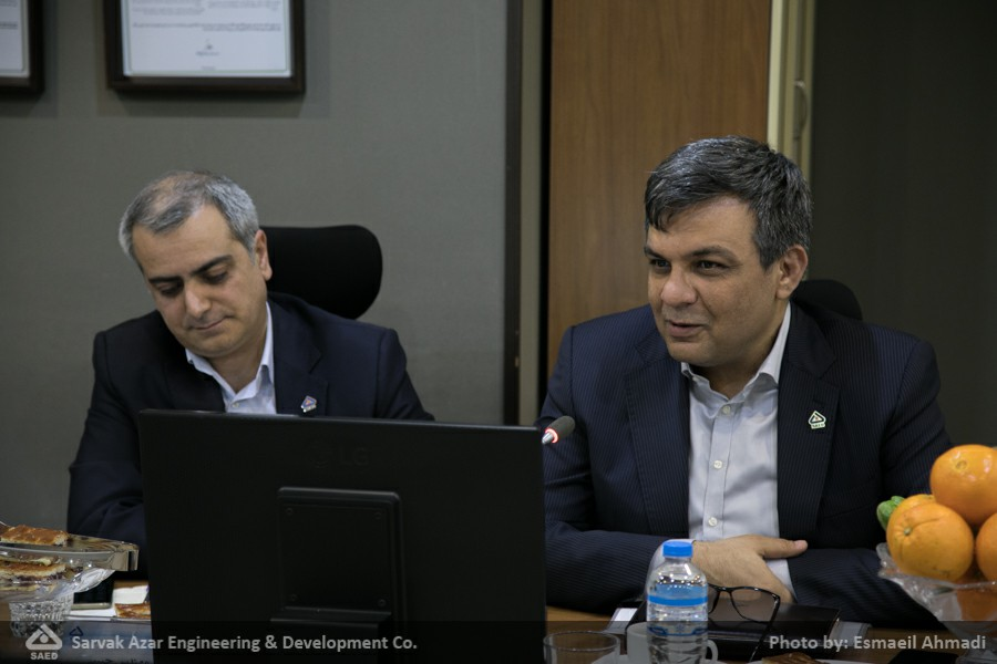 Acknowledgement Ceremony of Mr. Soroushi and Introduction of Mr. Mohammadi as Head of Sarvak Azar Engineering and Development Co.'s Board of Directors