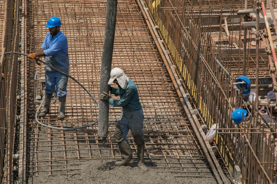 Concreting Operation of API Separator Package Foundation in Central Processing Facilities