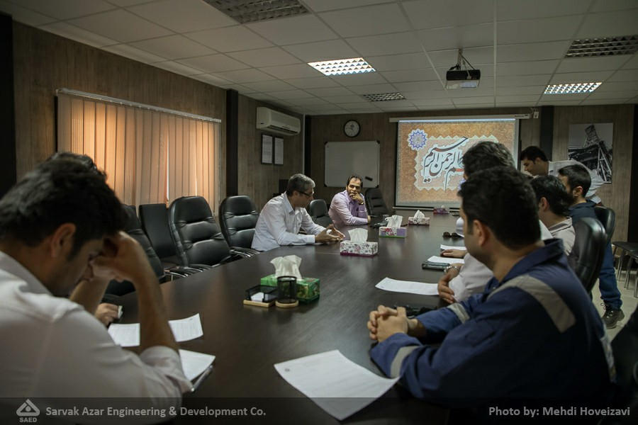 Conducting Knowledge Management Training Workshop for Surface and Sub-surface Departments at Azar Site