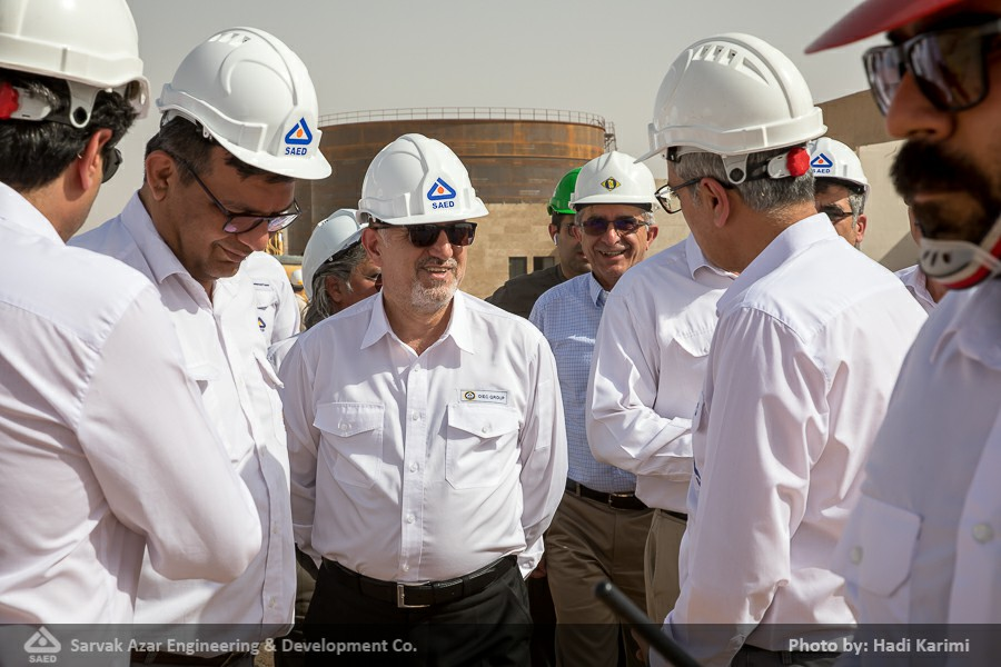 Pictorial Report: OIEC Group Managing Director's Visit to Azar Shared Oil Field