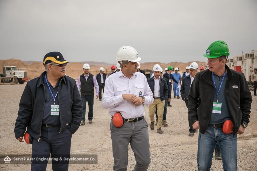 گزارش تصویری: آذر، میزبان مدیران ارشد شرکت گاز پروم نِفت روسیه